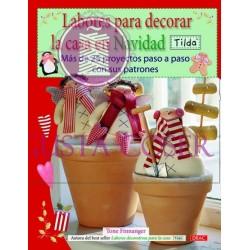 Labores para decorar la casa en Navidad Tilda