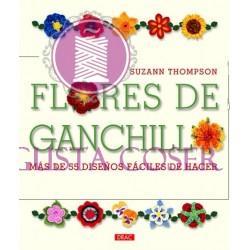 Flores de ganchillo. Más de 55 diseños fáciles de hacer