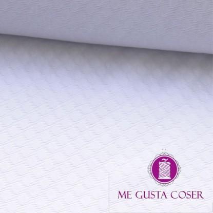 Tela pique Orus blanco 19.90€/m