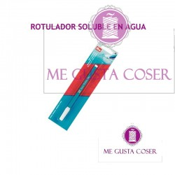 Rotulador soluble azul
