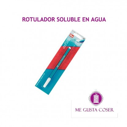 Rotulador soluble azul