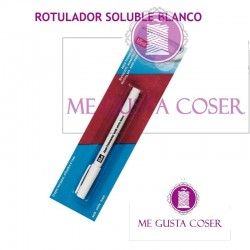 Rotulador soluble blanco