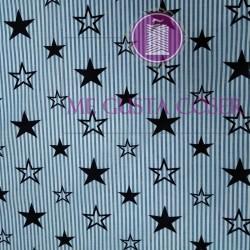 Algodón Estrella Navy
