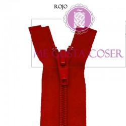 Cremallera Separador N5 Rojo