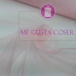Tul carnaval Rosa
