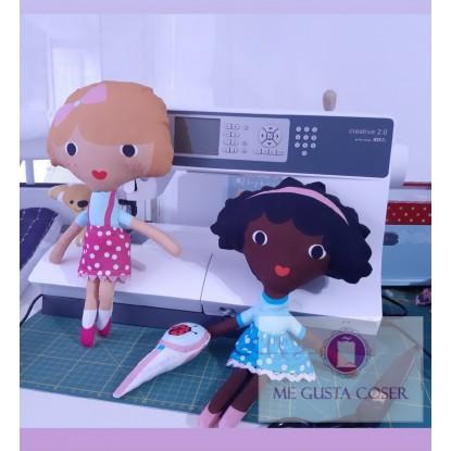 Muñecas Piper y Jules
