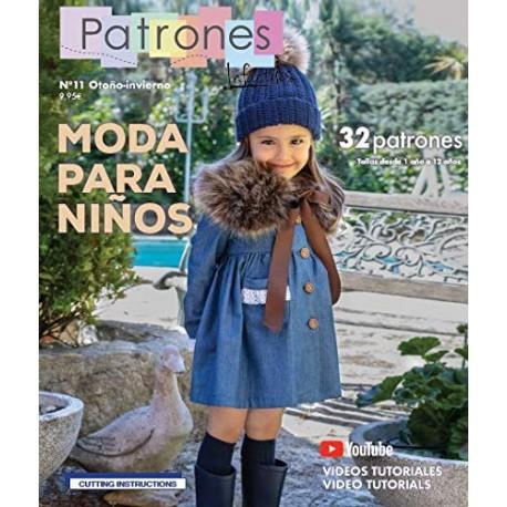 Revista Patrones infantiles 11