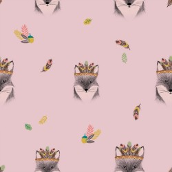 Tela popelin Main Fox Pink
