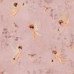 Tela popelin Fairies