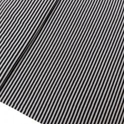Punto camiseta rayas gris y negro