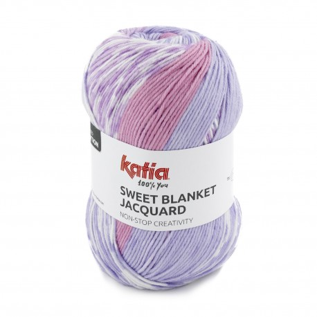 Lana Katia Sweet Blanket Jacquard