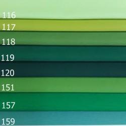 Loneta lisa tonos verdes