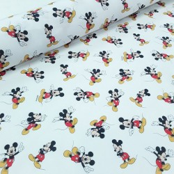 Popelín Mickey Mouse
