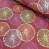 Loneta geometric rojo 280cm oferta
