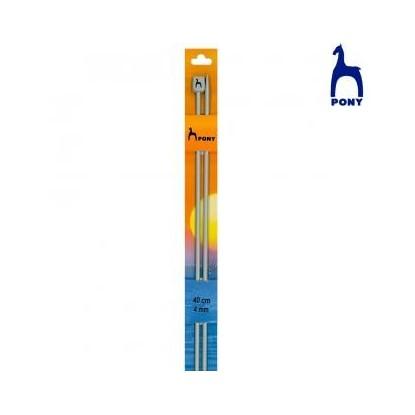 Agujas de tricotar de 40 cm de ABS tubular