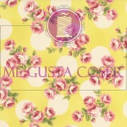 Tela Patchwork Flores 2242002