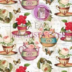 Tela Patchwork Teapot 1