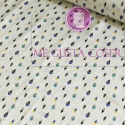 Tela blusa geometric