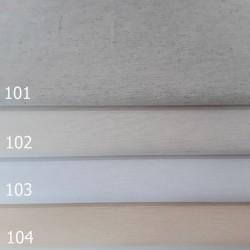 Loneta lisa color blanco y beiges