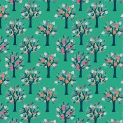 Tela popelin Tulum Trees